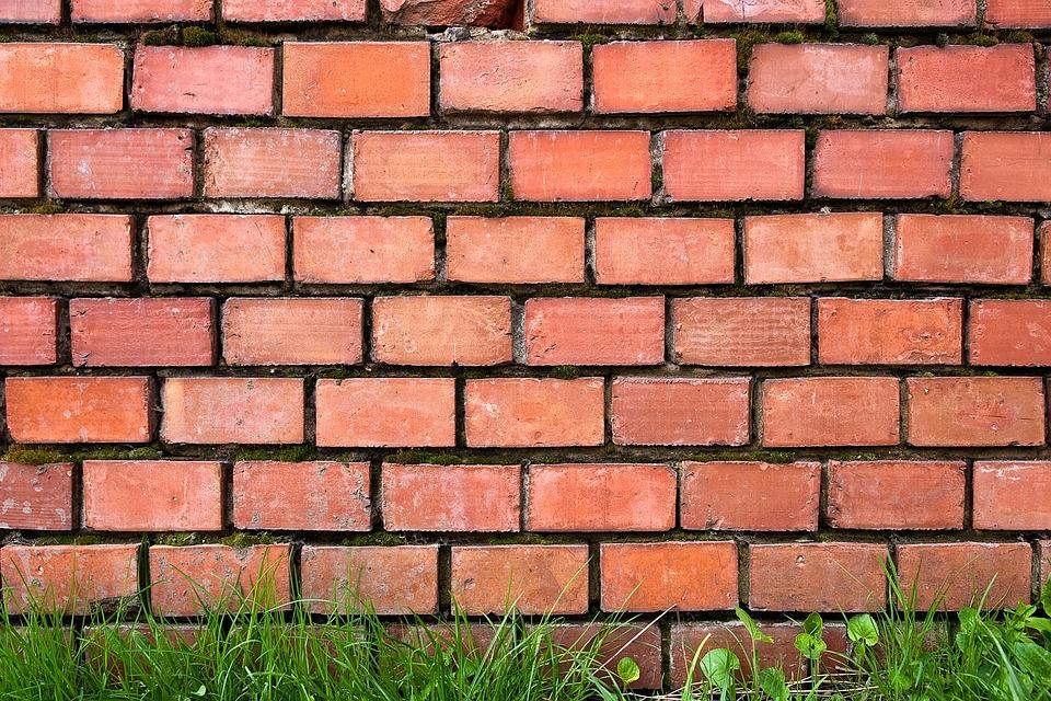 free photo  brick  wall  red  brick wall  break