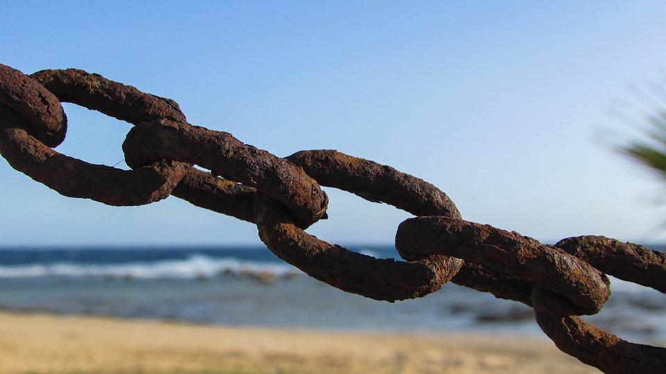 Foto gratis la cadena de oxidado metal imagen gratis for Cadena de hierro