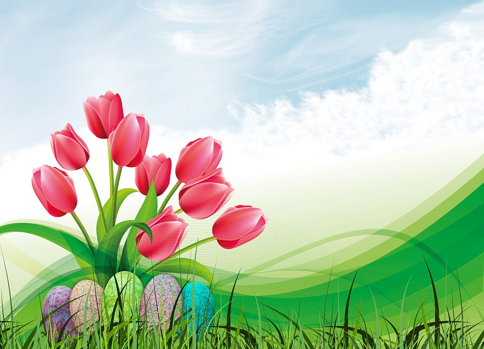 Spring Tulip Easter Egg 183 Free Image On Pixabay