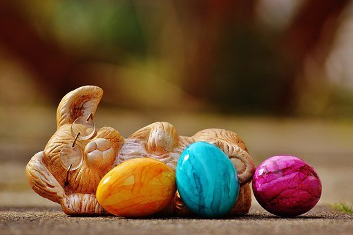 Easter, Egg, Colorful, Hare