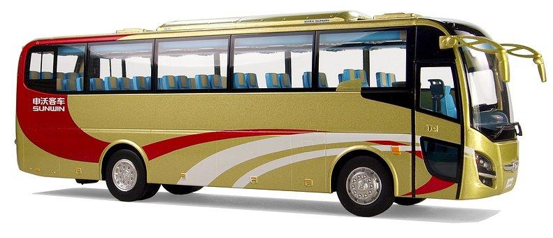 Sunwin Swb 6110, Model Buses From China