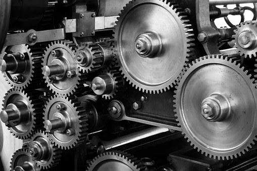 gear, cogs, machine, machinery, mechanic