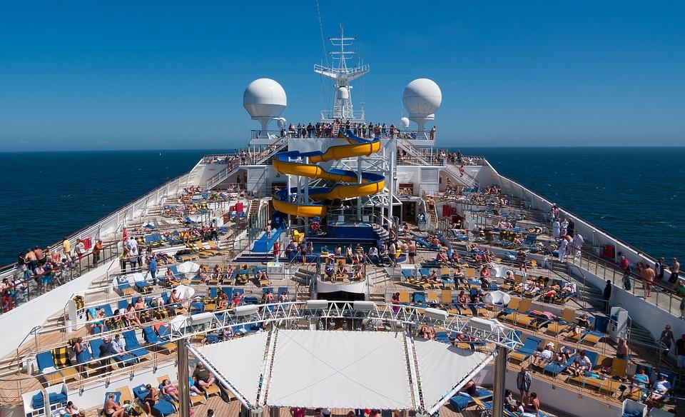 クルーズ, 船, 海, 旅行, クルーズ船, 休暇, 水, ボート, 空, 休日, 観光, 青