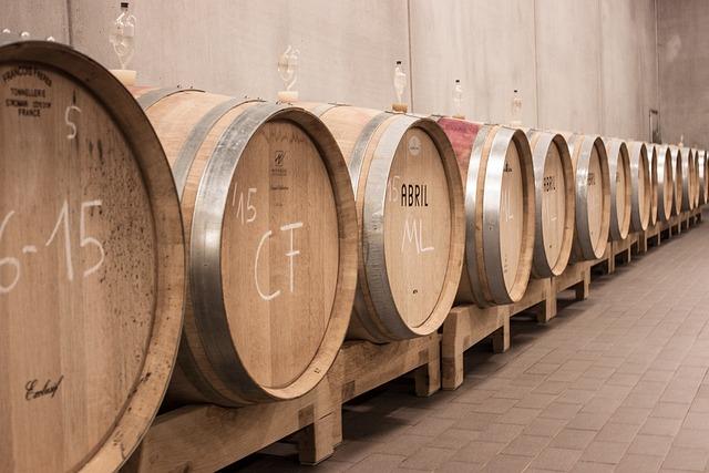 Kostenloses foto wein fass weinfass f sser - Barril de vino ...