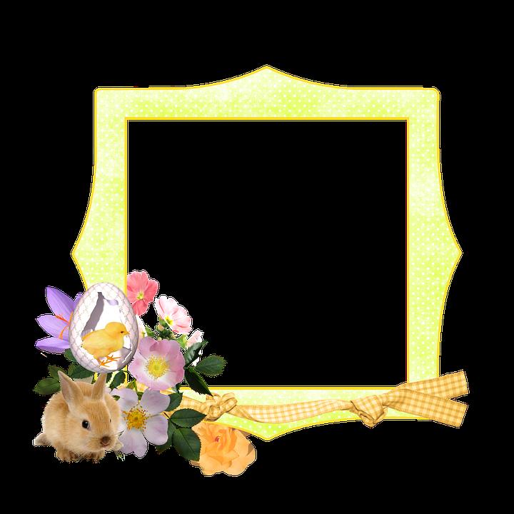 Easter Spring Frame · Free image on Pixabay