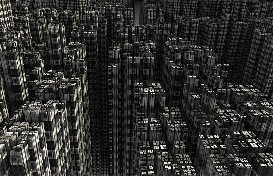 Gratis illustratie achtergrond 3d fractal maken for Programmi architettura 3d gratis