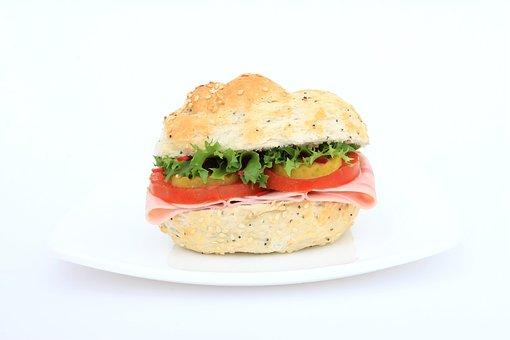 Bread, Brown, Bun, Calories, Close-Up