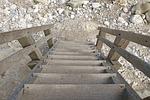 banister, beach, climb
