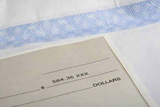 American, Bills, Business, Cheque