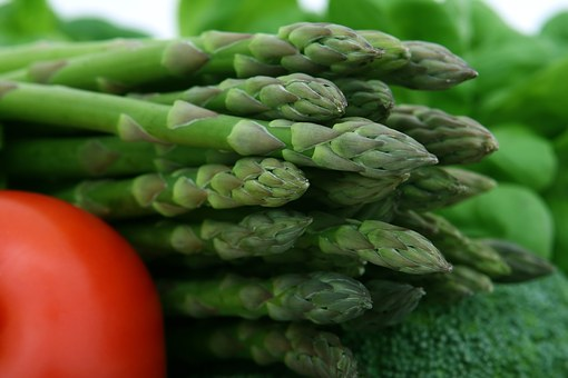 Asparagus, Broccoli, Cherry, Fiber, Food