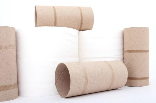 Roll, Toiletries, Toilet Roll, Cardboard