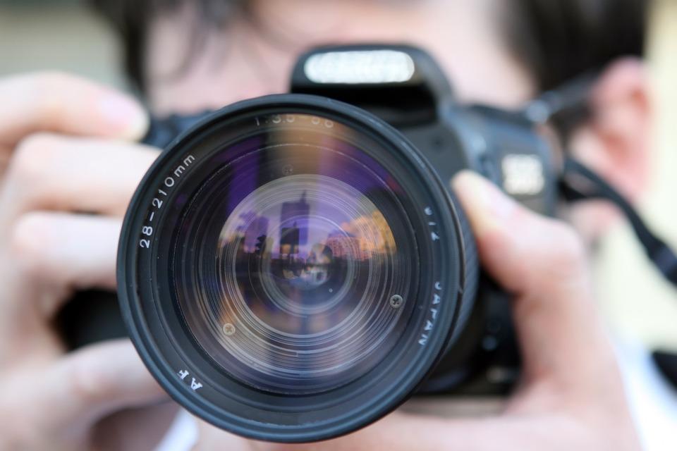 相机, 孔径, 数字相机, 数码单反相机, 电影, 新闻, 记者, 镜头, 摄影师, 摄影, 快门, 跟踪者
