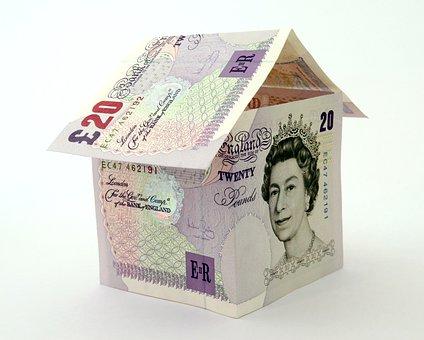 House, Bank, Banking, Bills, British