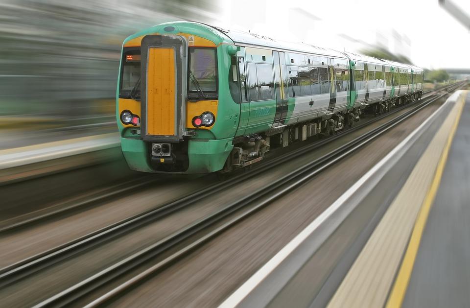 Difuminar, Viaje, Desplazamientos, Locomotora, Metro