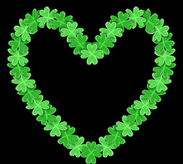 love 3d heart shamrock 183 free image on pixabay