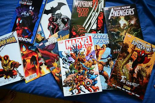Comics Novels Superhero Marvel Dc Superher