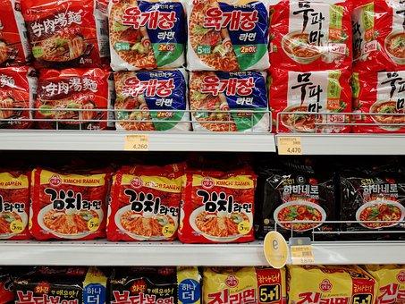マート, 육개장, お店, スーパーマーケット, 食品, 韓国語, 製品, 区別