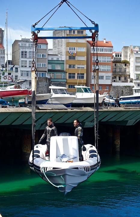 Boat Lift Crane - Free photo on Pixabay
