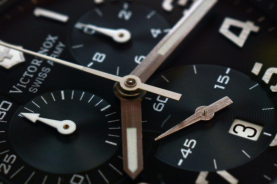クロック, 時間, 時計, クロノグラフ, 男性, ポインター, 時間を示す, ダイヤル, 時間の, 待つ