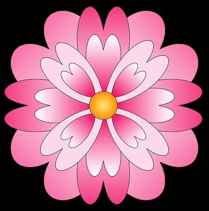Flor Flores Rosa Desenho De Imagens Grátis No Pixabay
