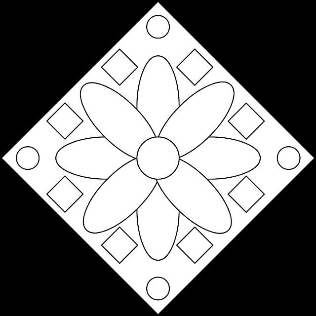 desenho colorir flor imagens grátis no pixabay