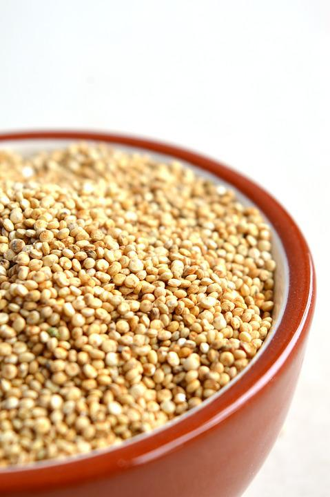 Quinoa, Bowl, Grain, Healthy, Food, Nutrition, Diet