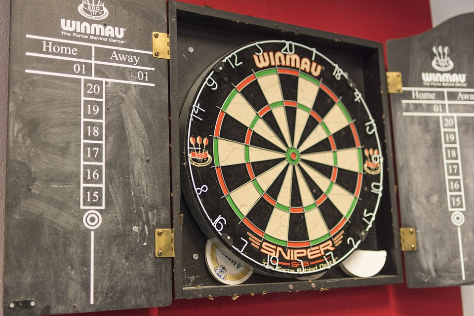 Darts Dart Board Game Free Photo On Pixabay