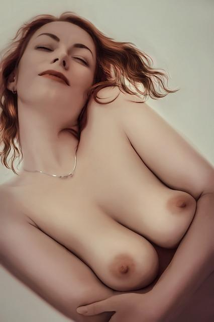 Free photo: Erotica, Breast, Nipple, Portrait - Free Image ...