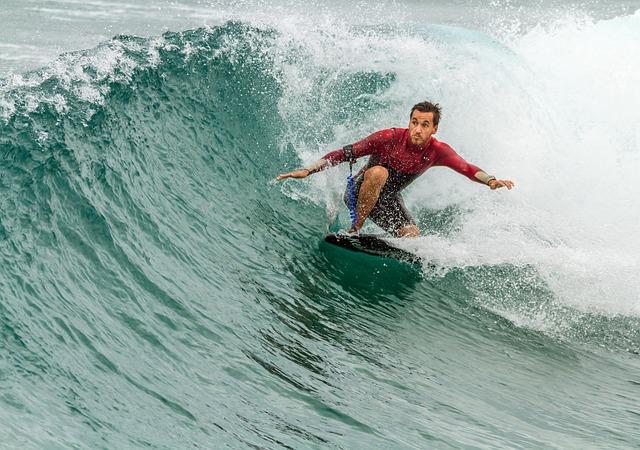 Surfing Surfboard Man 183 Free Photo On Pixabay