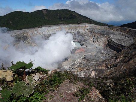 El Parque nacional Volcán Poás