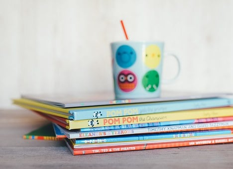 Childrens Books Books Reading Cup Drink Ed