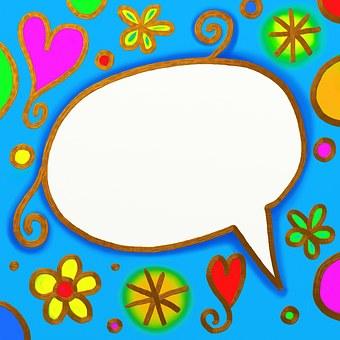 Talk Chat Comic Cartoon Speech Bubble