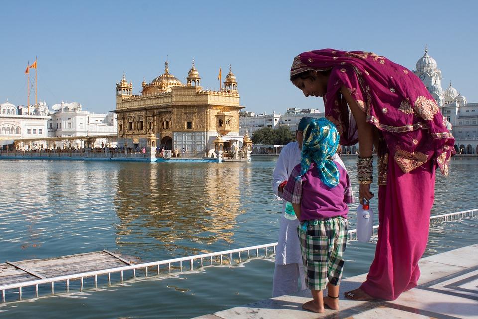 India, Amritsar, Golden Temple