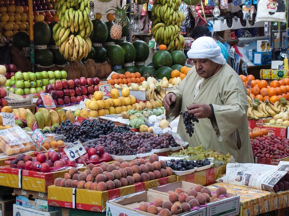 Cairo, Fruit, Fruits Plants, Turban, Egypt, Market