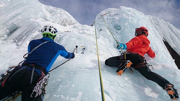 アイスクライミング, 氷, 登る, 極限スポーツ, 凍結, 氷瀑, 氷登山
