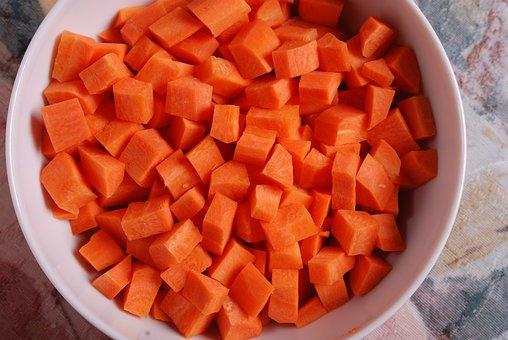 Carrot, Sliced, Chopped Carrot