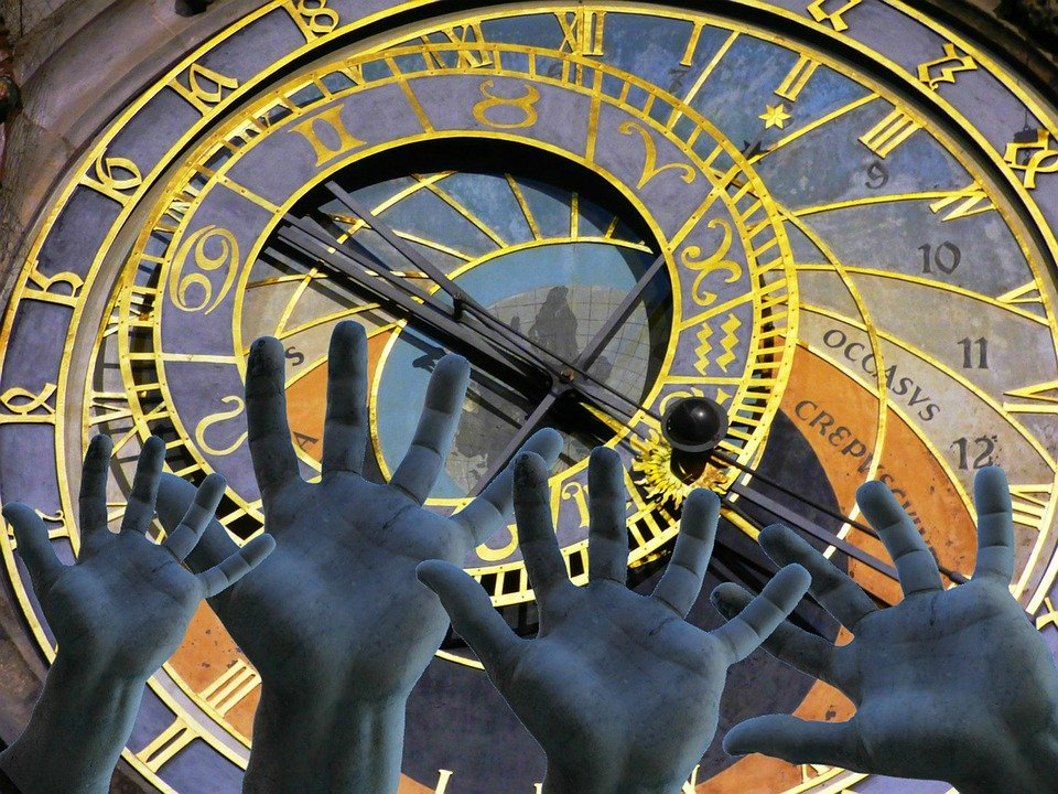 Free Illustration Hands Time Change Past Clock Free