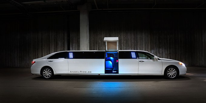 Limousine, Limo, Luxury, Transportation