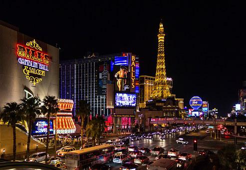 Las Vegas, United States, Night, Street