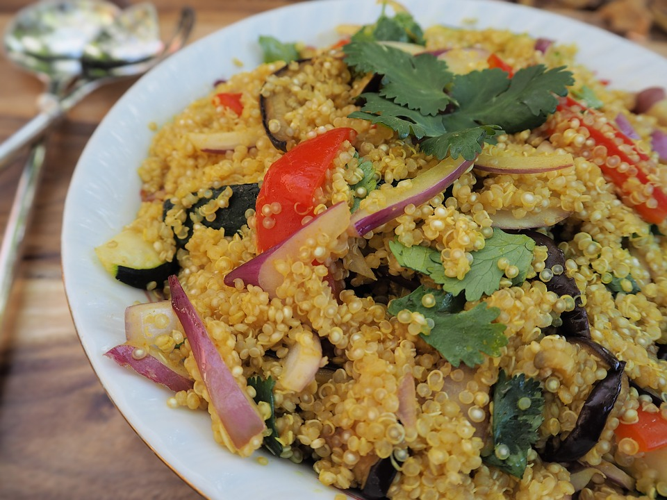 Quinoa Low Calorie Food high protein
