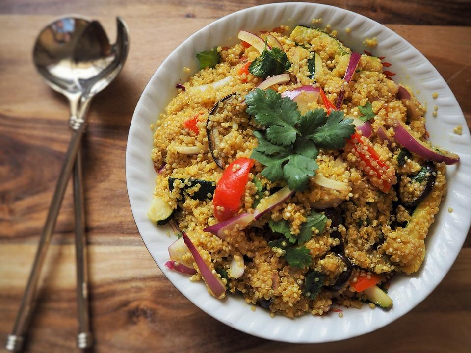 Grains & Quinoa Salad Review