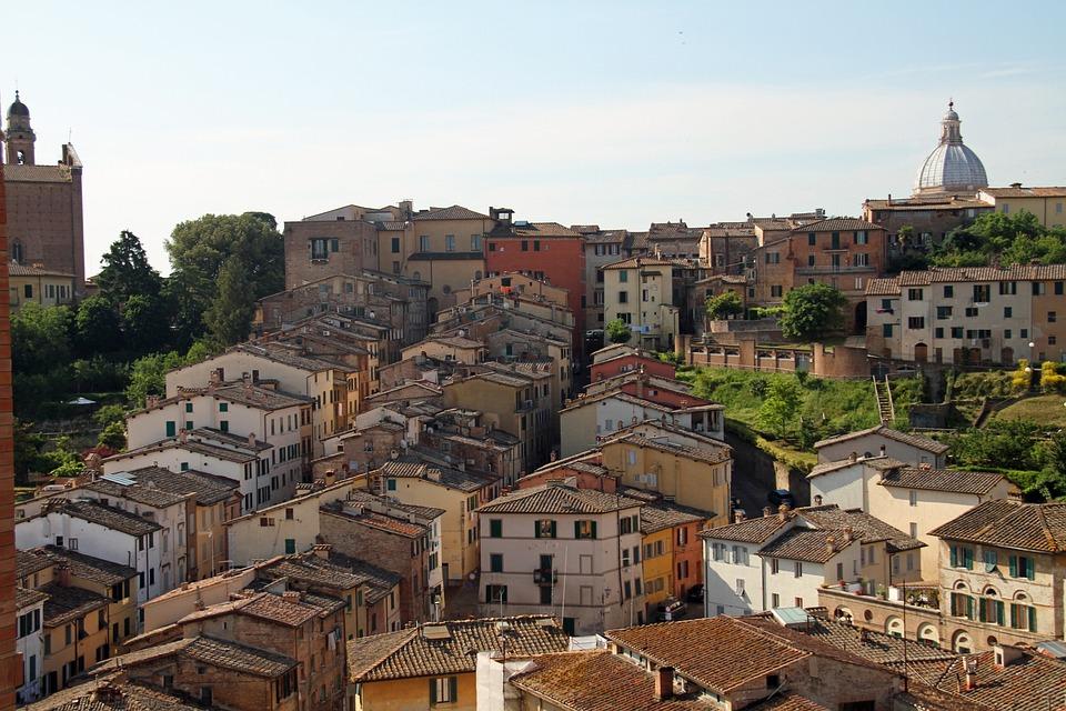 Sienne En Italien