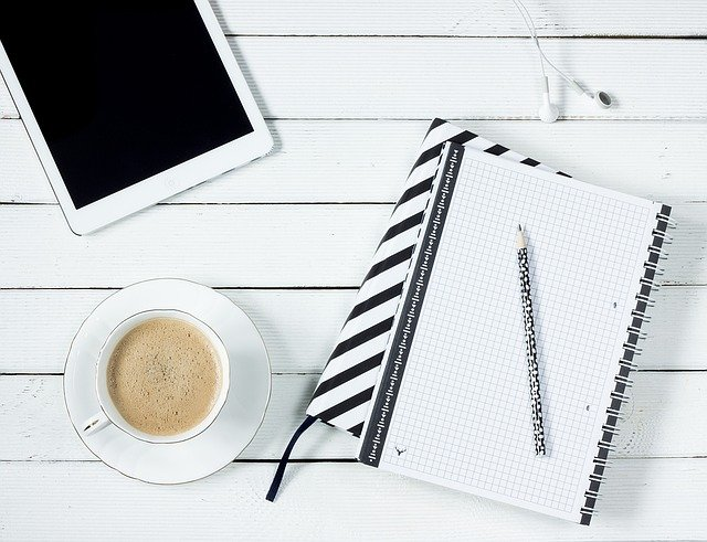Free photo: Tablet, Notes, Coffee, Work Desk - Free Image ...