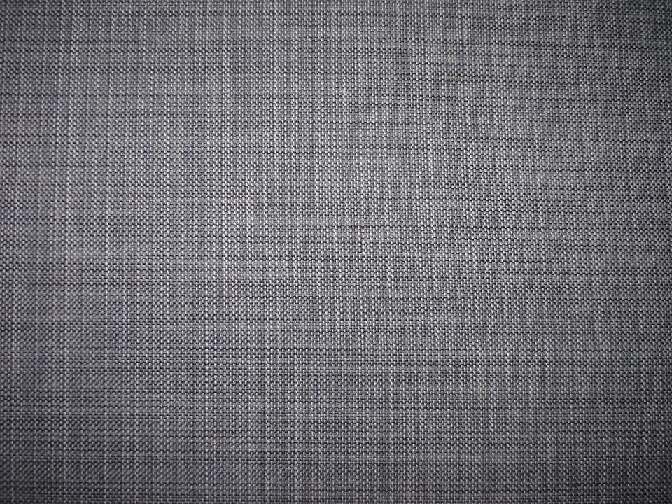 Bank Sofa Fabric Grey Sewn Wooden Bench Furniture