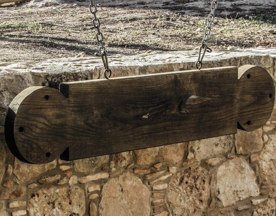 Cyprus, Ayia Napa, Monastery, Medieval, Gong, Wooden