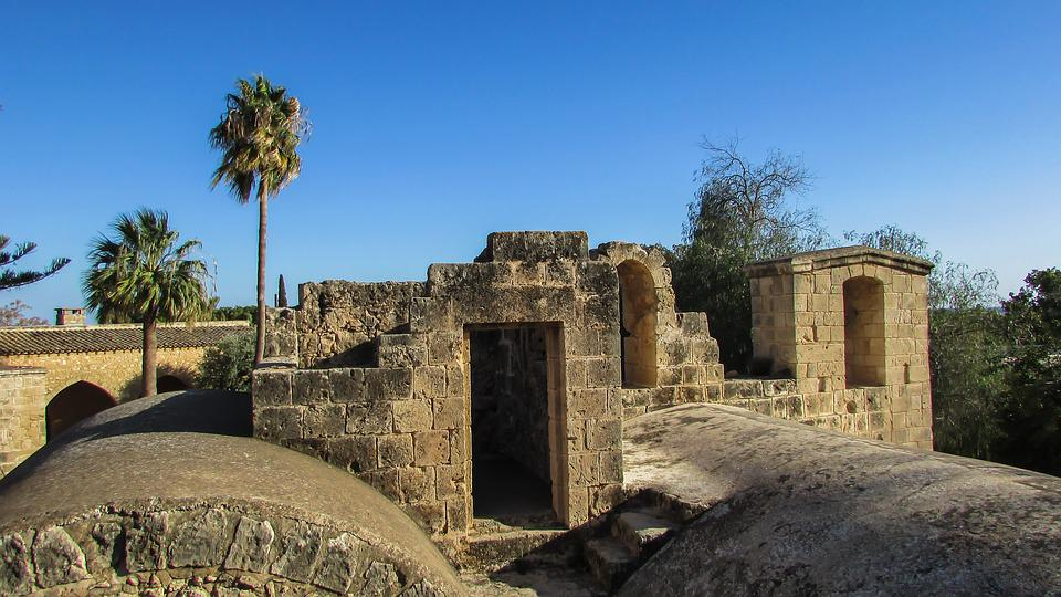 Cyprus, Ayia Napa, Monastery, Medieval, Church, Roof