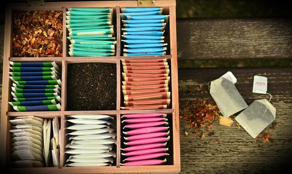 Almacenar el té es importante para retener la esencia.