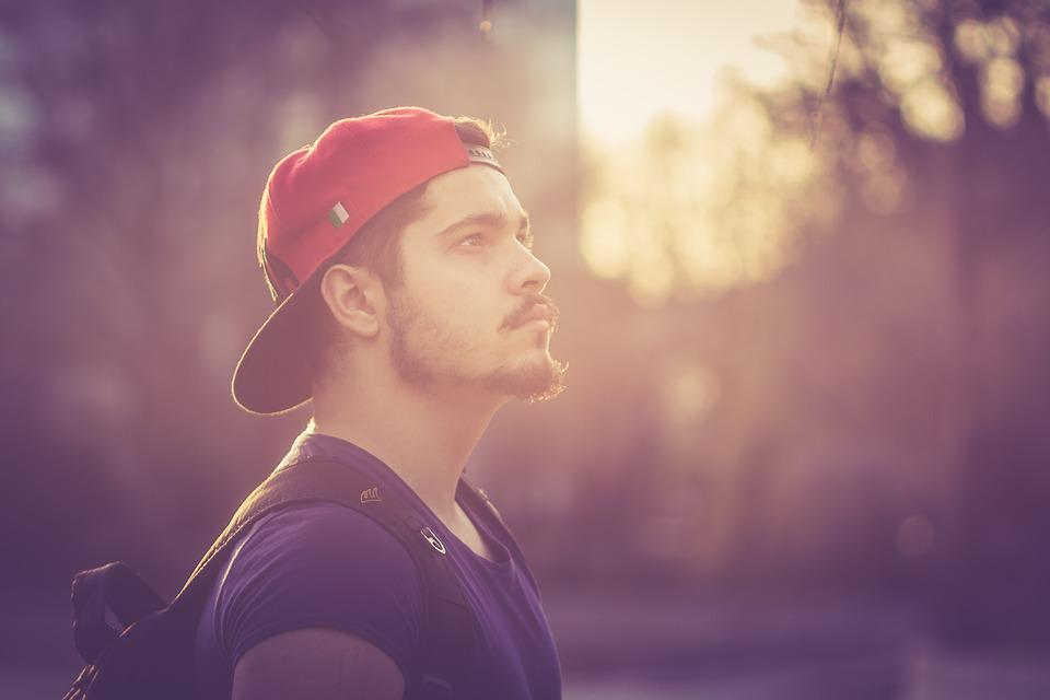 Boy, Portrait, Beard, Eye, About