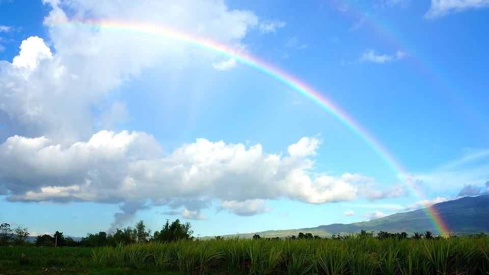 Free Photo Sky Rainbow Clouds Rainbow Sky Free Image