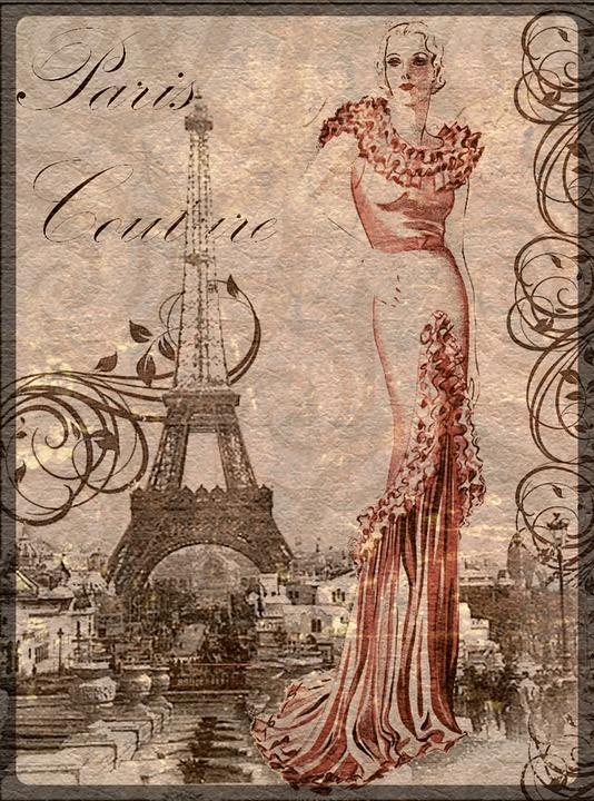 Super Illustration gratuite: Vintage, Collage, Art, Femme, Belle - Image  QI61